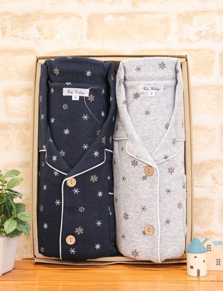 100% of pair pajamas cotton knit kilts place crystal pattern print