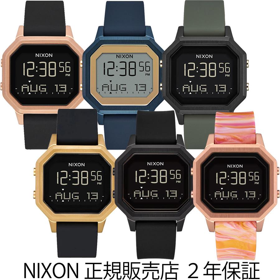 ニクソン 腕時計 リストウォッチ 時計 Nixon 正規販売店 ニクソン 腕時計 サイレン ステンレススティール A1211 Siren SS リストウォッチ Nixon メンズ レディース ユニセックス