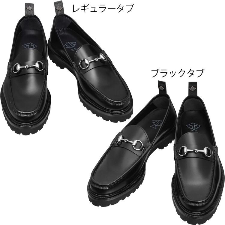 ダブルエイチ ビットローファー シューズ WHS-0504 干場氏別注 Tool-442 カーフ WH