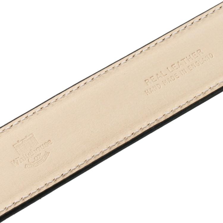 ホワイトハウスコックス/WhitehouseCox:B1859フレンチカーフベルト30mm