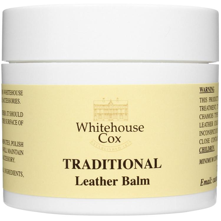 ホワイトハウスコックス/WhitehouseCox:メンテナンス3点セットレザーバームレザーフードブラシ