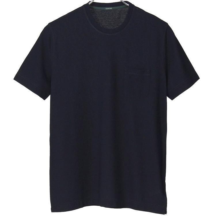 ザノーネクルーネックTシャツスムースアイスコットン812281Z0380Zanone