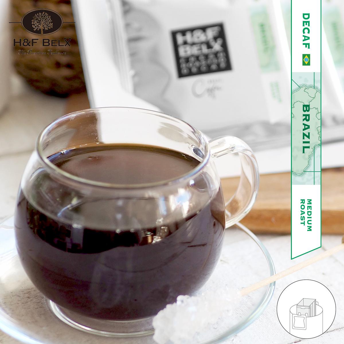 【送料無料】【デカフェコーヒー】【カフェイン0.00g】 デカフェ ブラジル産コーヒー 18袋コーヒー デカフェ カフェインレス ノンカフェイン 0.00g 美味しい フレーバー アソート 18袋入り 大容量 ボリューム HF BELX エイチアンドエフ ベルクス [M便 1/1]