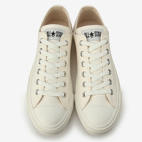Converse all stars armies CONVERSE ALL STAR ARMY'S OX WHITE low frequency cut Lady's men sneakers white white (unbleached) limitation