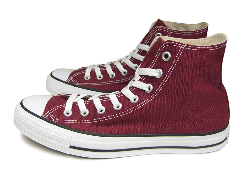 Converse higher frequency elimination all-stars CONVERSE CANVAS ALL STAR HI  MAROON Marron e01505b26