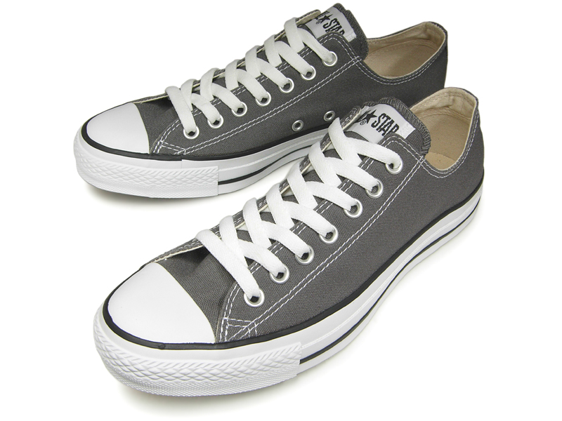 8a0ef8a8f77d48 Converse low-frequency cut all-stars CONVERSE CANVAS ALL STAR OX charcoal