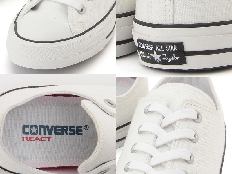 【100周年モデル】コンバース オールスター 100 カラーズ CONVERSE ALL STAR 100 COLORS OX ホワイト 白黒 レディース メンズ スニーカー ローカット