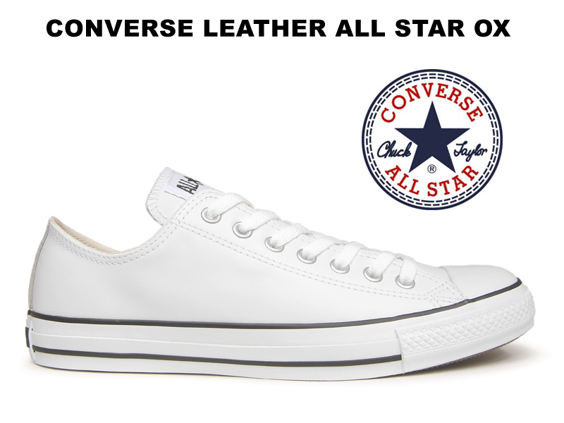 converse all star leather ox