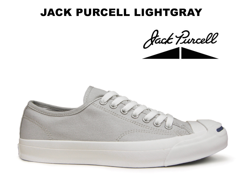 b94ae95cc25e Converse Jack Pursel CONVERSE JACK PURCELL light gray canvas Lady s men