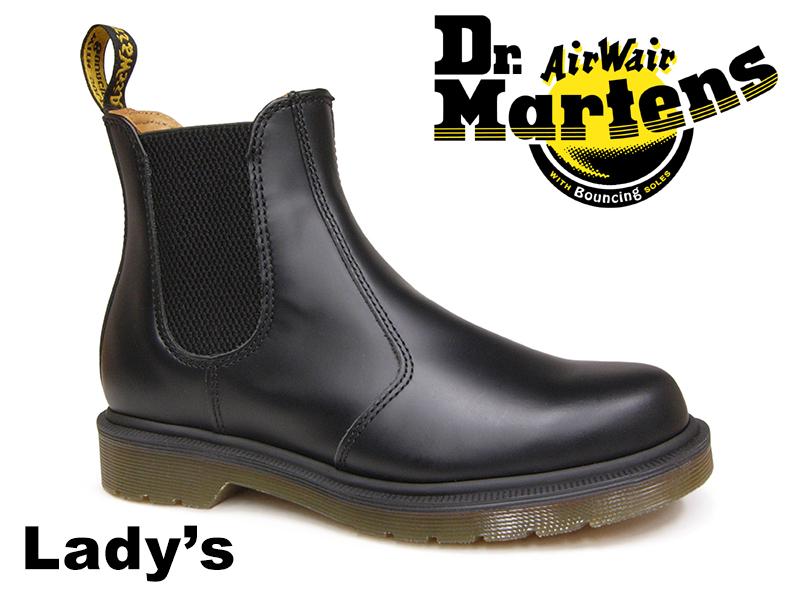 【1/17再入荷!】ドクターマーチン チェルシーブーツ サイドゴアブーツ Dr.Martens CHELSEA BOOTS 2976 BLACK