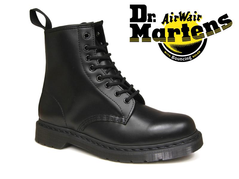 【12/13再入荷!】Dr.Martens ドクターマーチン 8ホール オールブラック モノ メンズ 8EYE BOOT 1460MONO BLACK