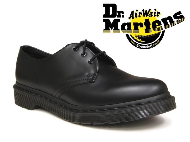 Dr.Martens ドクターマーチン 3ホール 1461 モノ オールブラック