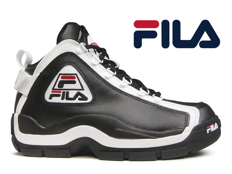 utterly stylish the sale of shoes pre order hi-fine: FILA 96 GL GRANT HILL Fila Grant Hill 2 black / white ...