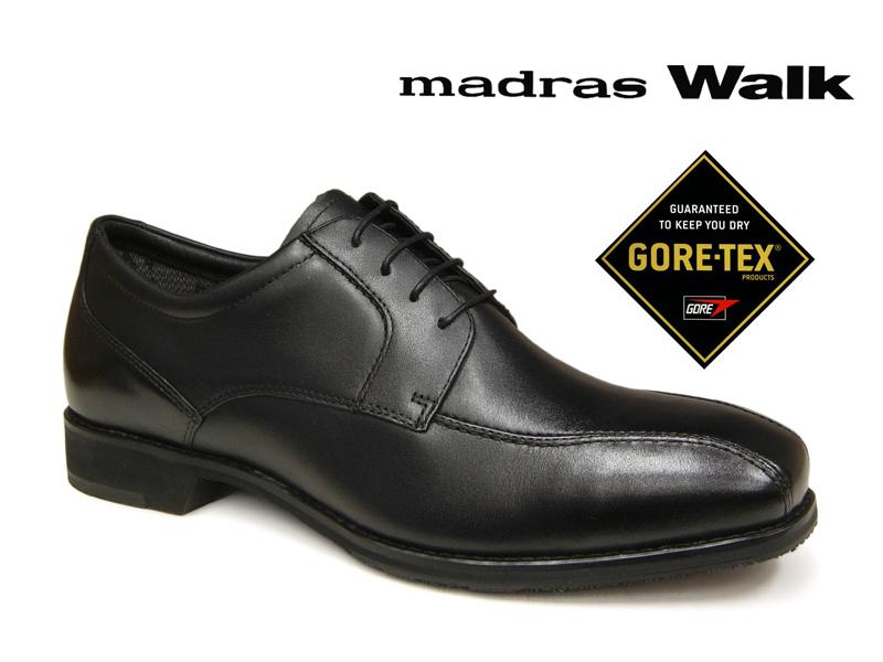 【メンズ4E 24.5cmのみ】madras Walk マドラスウォーク ゴアテックス ビジネスシューズ GORE-TEX 4E MW6020 メンズ 防水 本革 レザー ブーツ