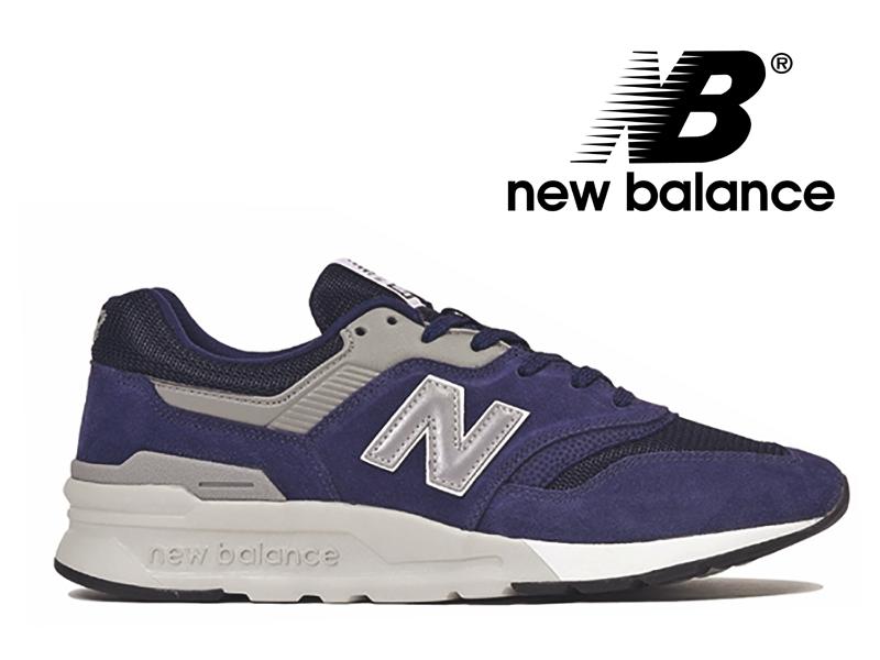 【2019春夏新作】NEW BALANCE CM997H CE ニューバランス レディース メンズ ネイビー 紺【国内正規品】