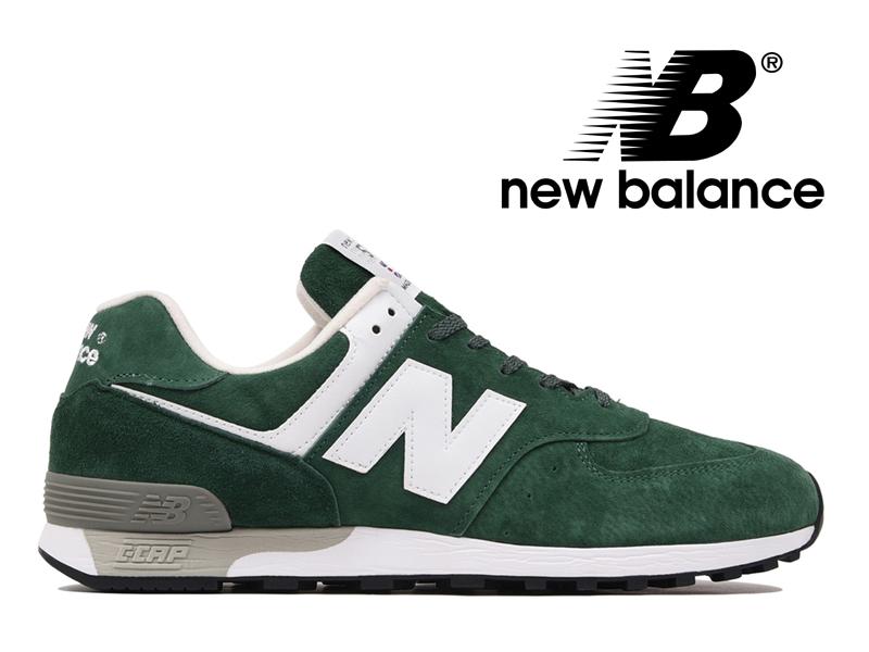 ニューバランス NEW BALANCE M576 UK GG グリーン スエード 緑 メンズ スニーカー イングランド【国内正規品】