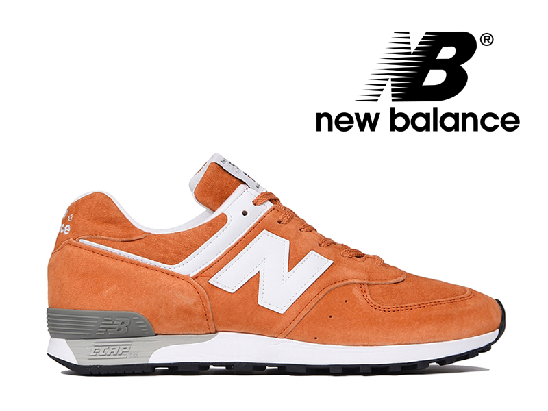 ニューバランス NEW BALANCE M576 UK OO オレンジ/ホワイト オール スエード メンズ スニーカー イングランド【国内正規品】