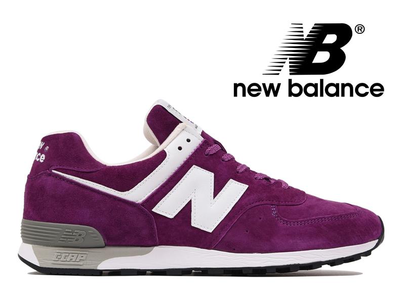 ニューバランス NEW BALANCE M576 UK PP パープル スエード 紫 メンズ スニーカー イングランド【国内正規品】