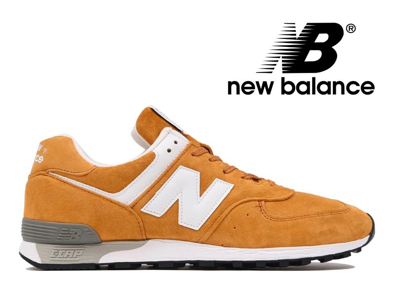 ニューバランス NEW BALANCE M576 UK YY イエロー スエード 黄色 メンズ スニーカー イングランド【国内正規品】