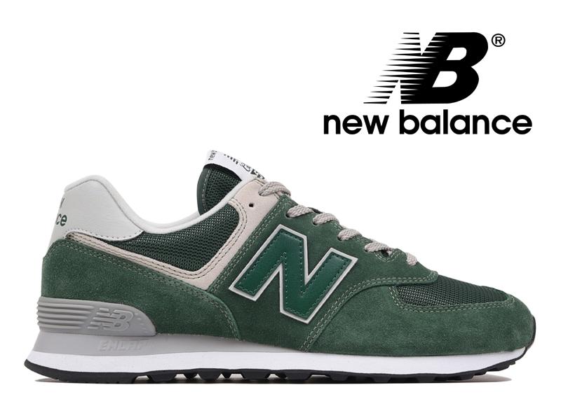 【2018年リニューアルモデル】NEW BALANCE ML574 EGR ニューバランス レディース メンズ フォレストグリーン 緑【国内正規品】