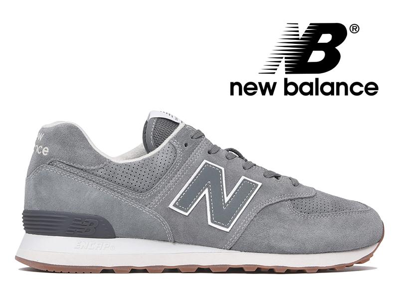 【2018年リニューアルモデル】NEW BALANCE ML574 ESJ ニューバランス レディース メンズ セージ (グレースエード)【国内正規品】