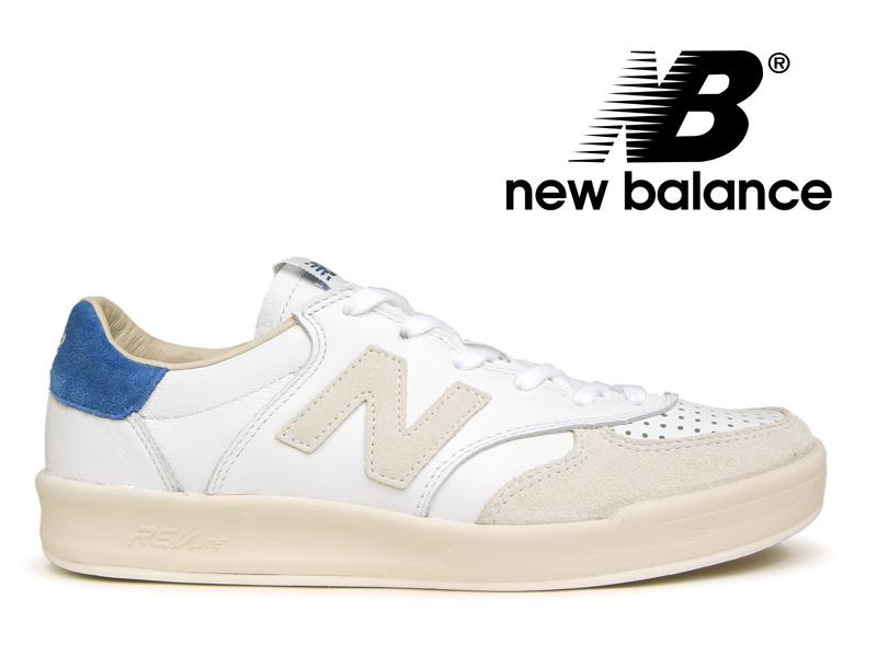 【残り22.5から24センチ】NEW BALANCE CRT300 WL ニューバランス スニーカー レディース メンズ ホワイト レザー 白青【国内正規品】