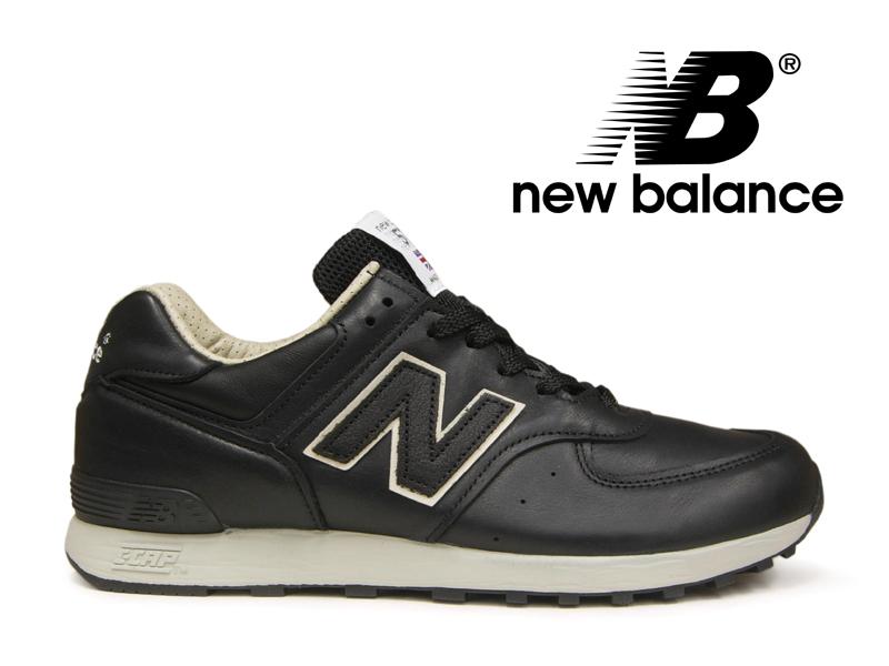 ニューバランス NEW BALANCE M576 UK CKK ブラック/ベージュ 黒レザー メンズ スニーカー イングランド【国内正規品】