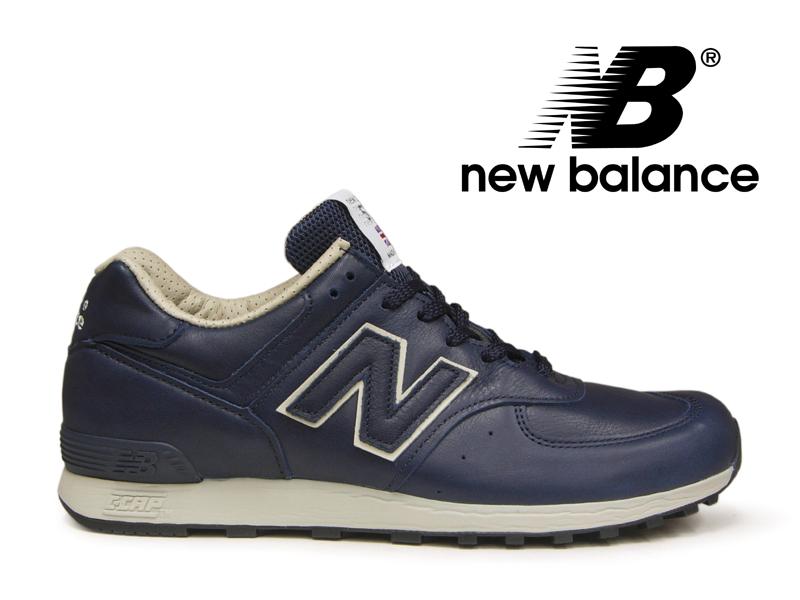 ニューバランス NEW BALANCE M576 UK CNN ネイビー/レザー 紺 メンズ スニーカー イングランド【国内正規品】