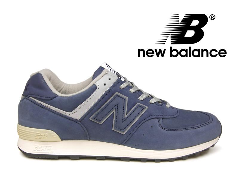 【残り28.0 28.5センチ】ニューバランス NEW BALANCE M576 UK NNV ネイビー ヌバック レザー 紺 メンズ スニーカー【国内正規品】