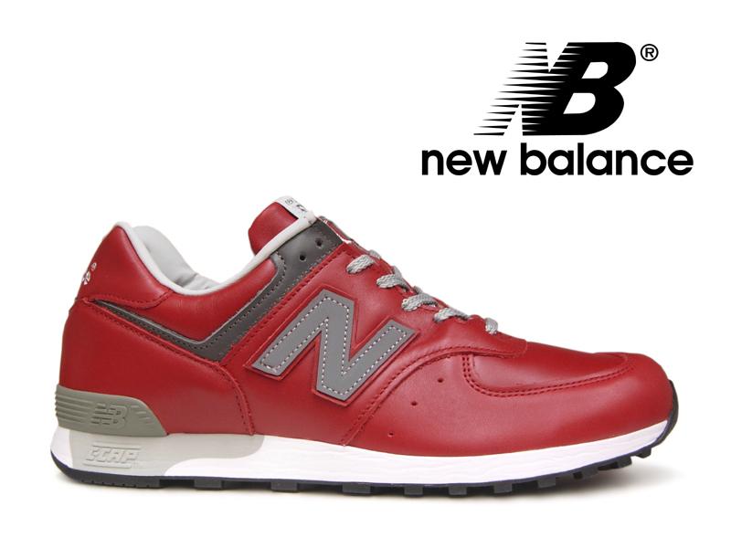 ニューバランス NEW BALANCE M576 UK RED レッド 赤 レザー メンズ スニーカー イングランド【国内正規品】
