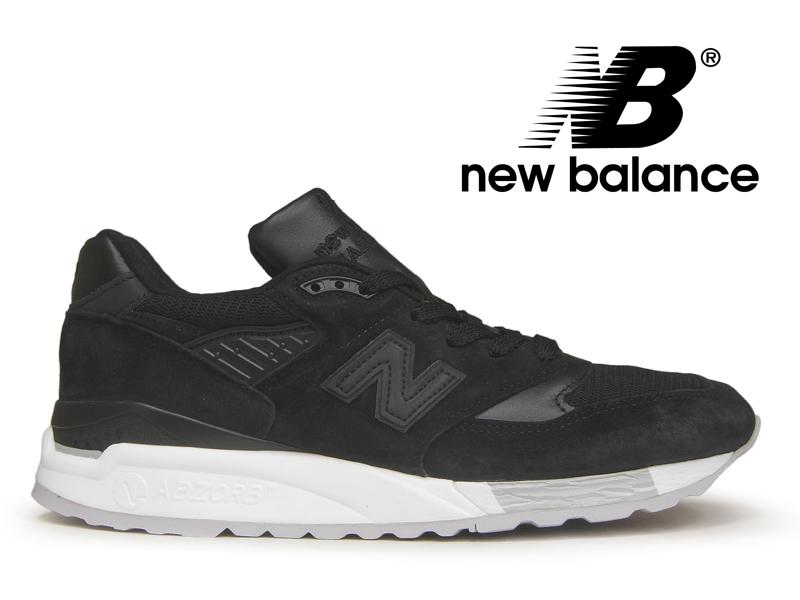 【3/16再入荷!】NEW BALANCE M998 NJ ニューバランス 998 ブラック 黒 アメリカ製【国内正規品】