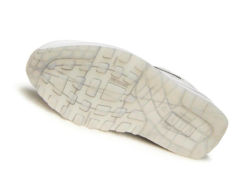 NIKE AIR MAX 1 SKETCH TO SHELF Kie Ney AMAX 1 sketching toe shelf WHITEWHITEBLACK