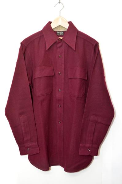 【新古品/中古】40's 50's unclesam ウールシャツ アンクルサム デッドストック DEADSTOCK ヴィンテージ