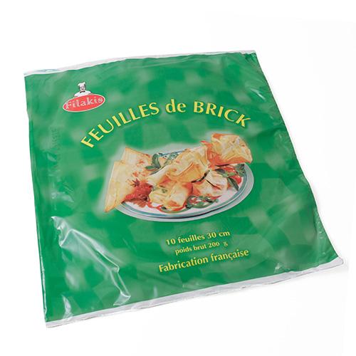 フランス産星付レストランの料理人からお墨付きのブランド 超人気 迅速な対応で商品をお届け致します パートブリック 200g 10枚入 冷蔵可 冷凍 冷凍のみ