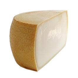 イタリア産/ザネッティ社製:グラナパダーノDOP | grana Padano | cheese | チーズ |【約18kg】ハーフカット【2,600円(税別)/kg単価再計算】【冷蔵のみ】【D+3】