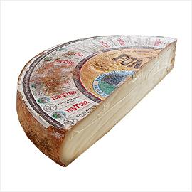 イタリア産 フォンティーナ DOP チーズ 【約3.5kg】【6,600円(税別)/kg単価再計算】【冷蔵/冷凍可】