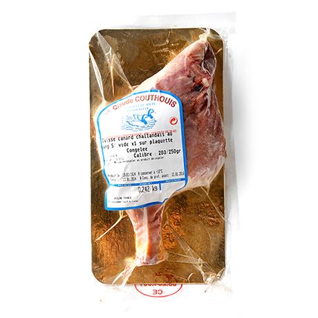 フランス:キュイスドカナールシャラン(鴨骨付きモモ肉)【250g-350g】【冷凍のみ】【D+0】 家禽類