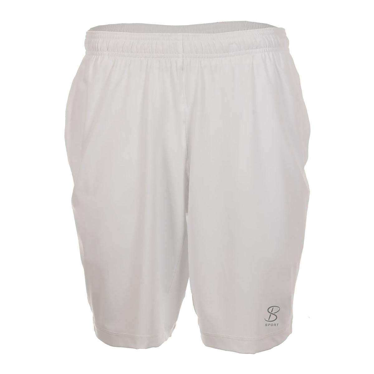 Stay-Dry 速乾素材UV-Protection UPF50 紫外線を98%カットAnti-Bacterial 細菌が繁殖しにくく肌に優しいテニスウェア テニス パデル メンズ 短パン SOFIBELLA MEN'S : ソフィベラ メンズ9