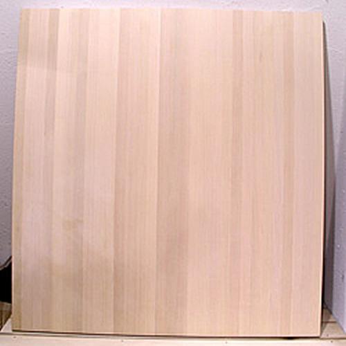 ソバ打ち のし板台 (脚付き)80×80×厚3cm 27枚継ぎ板