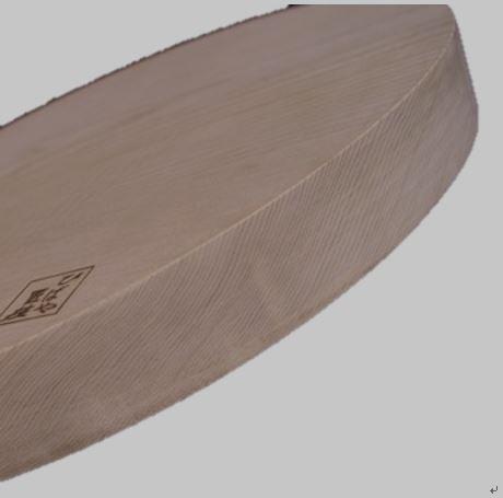 青森ヒバ円形まな板 [直径36×厚3cm]1枚板,厚い,円形