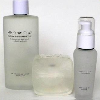 自然派基礎化粧品エナリー(オーミケンシ)【化粧水/美容液/洗顔石鹸】