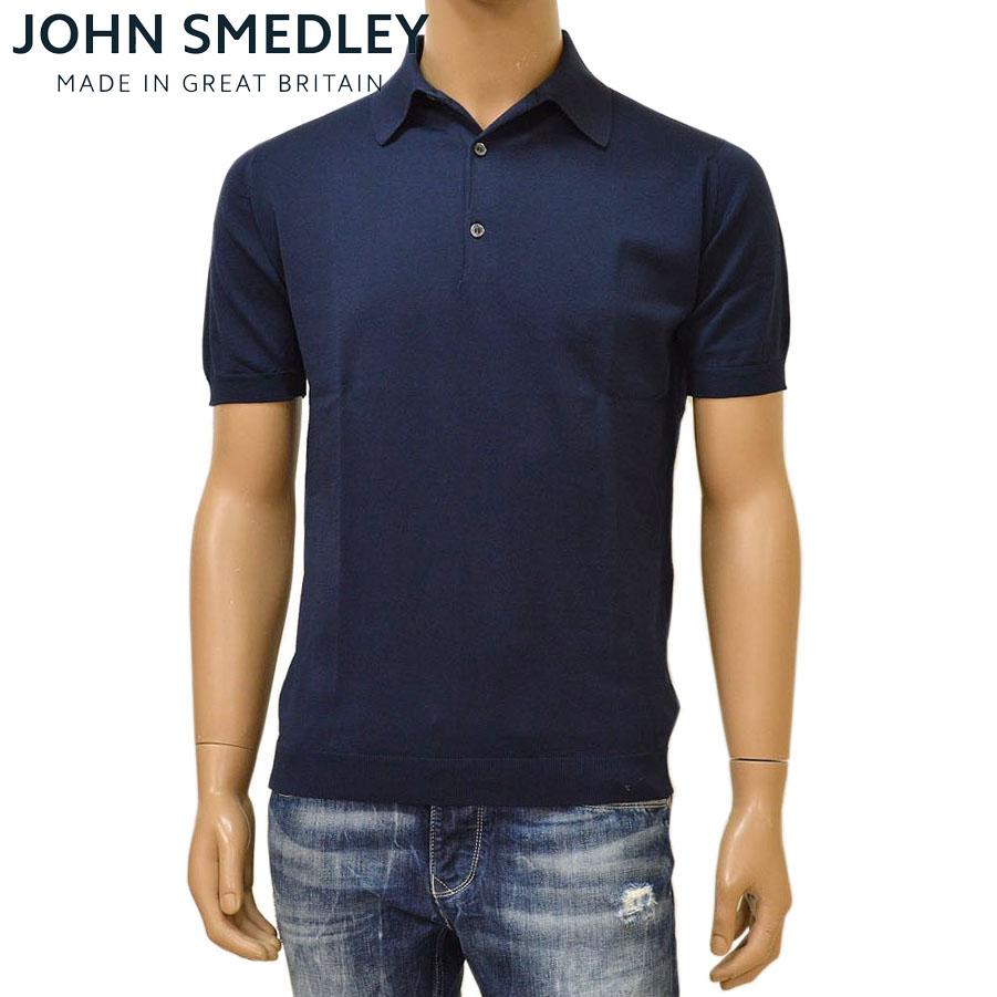 JOHN SMEDLEY ジョン スメドレー ADRIAN:NAVY メンズ 半袖ニットポロシャツ メーカー再生品 STANDARD FIT ejd16s002 ADRIAN:ネイビー L M XL S 春の新作続々 サイズ