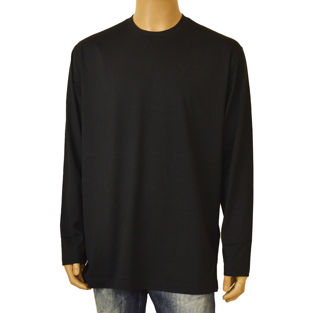 Tシャツ ロンT ブランド ロゴ 商店 Y-3 ワイスリー M CLASSIC CHEST LOGO TEE カットソー FN3361 送料無料カード決済可能 LS BLACK ey321w001 長袖Tシャツ 2021-22年AW秋冬新作 ブラック メンズ