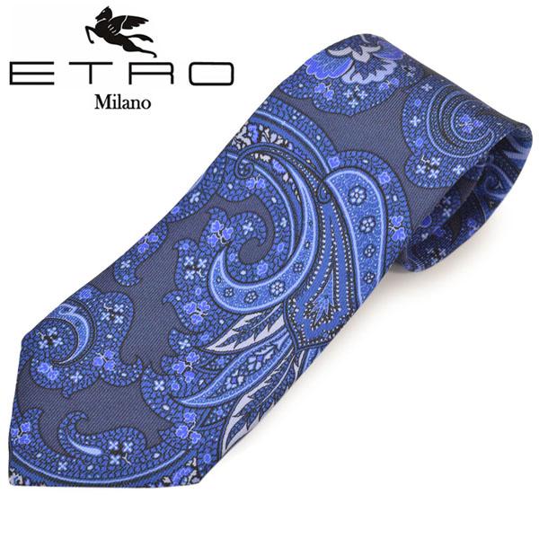 ネクタイ ギフト プレゼント ブランド ETRO エトロ 1年保証 5113-200 NAVY ネイビー メンズ eet20s015 特別セール品 ペイズリー柄シルクネクタイ サイズ剣幅8cm