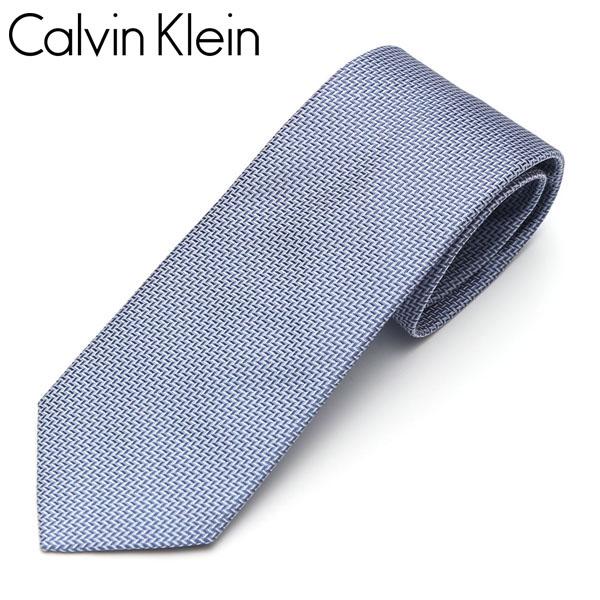 ビジネス ネクタイ ギフト プレゼント ブランド Calvin Klein カルバンクライン 別倉庫からの配送 メンズ ブルー ナロータイ 店舗 5265R-6 小柄 サイズ剣幅7cm eck17s015