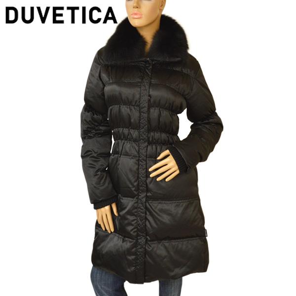 デュベティカ DUVETICA アウター ブランド 男女兼用 イタリア レディース ダウンコート フォックスファー メーカー再生品 ブラック edt502 999 CRISEIDEDUE D.5820N00 1216-FGK NERO