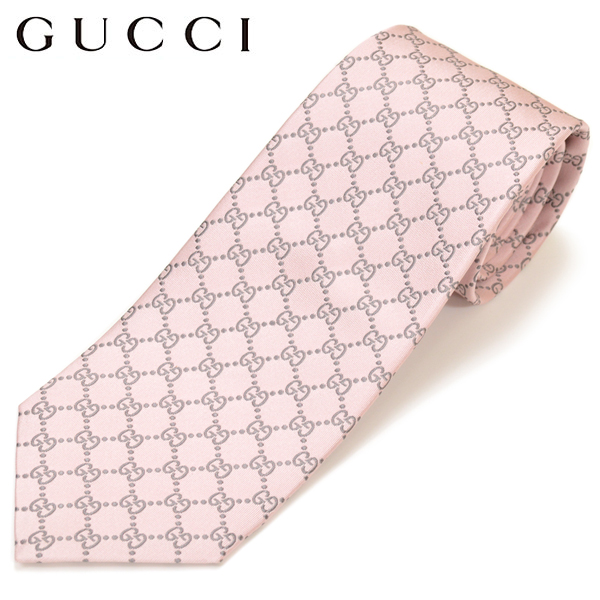 b2be412a8cf3 It is pink GUCCI Gucci men silk jacquard GG pattern pattern tie size sword  8cm in ...