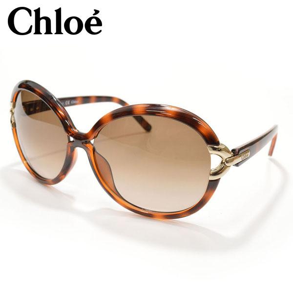 サングラス ブランド Chloe クロエ CE636S:BROWN ギフト オーバル型サングラス it003 チープ F 特価品コーナー☆ レディース サイズ CE636S:ブラウン