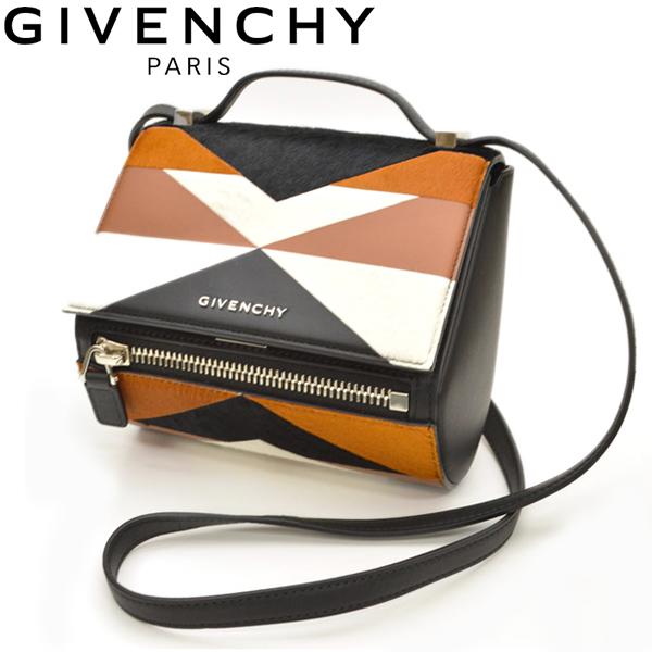 ショルダーバッグ ジバンシイ GIVENCHY レディース Pandora Box mini パンドラ ボックス ミニ mgy004:ブラウン/ブラック