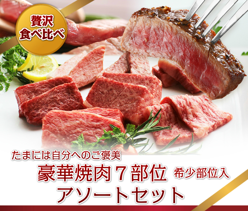 ◆贅沢一頭食べ比べ◆◆飛騨牛7部位食べつくし◆豪華焼肉アソートセット【稀少部位入】3名~4名用600g